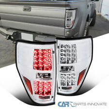 09-14 Ford F150 F-150 Pickup Clear LED Tail Lights Rear Brake Lamps Left+Right