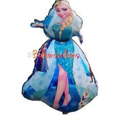 "Disney Frozen Elsa 36"" Shaped  Helium Balloon Princess Party Extra Large"