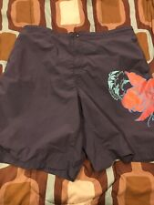 caribbean mens swimwear,sz XL