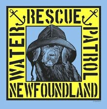 Sale Newfoundland Dog Water Rescue Patrol T-Shirt 4 Newfie Dog Rescue Project