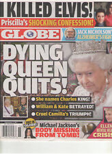 GLOBE SEPT 4 2017 DYING QUEEN I KILLED ELVIS PRISCILLA PRESLEY MICHAEL JACKSON