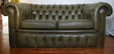 England Chesterfield 2 Sitzer Das Original, echt Leder ,, Luxus,Club;Suite,
