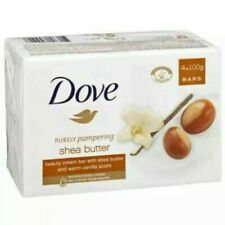 12 x Dove Soap Shea Butter 100g FREE P&P