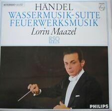 RADIO SYMPHONIE ORCHESTER BERLIN - LORIN MAAZEL - HANDEL - LP