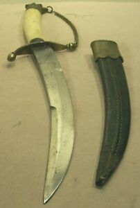 1890's~VICTORY~PURE STEEL~RARE MEXICAN UPSWEPT BOWIE ETCHED BLADE FIGHTING KNIFE