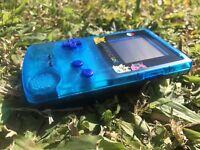 Nintendo GameBoy Color Game Boy Colour Handheld GBC Blue Black Pokemon Refurbish