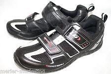 LG GARNEAU MultiRX Men's 5.5 Eu 38 Black Cycling Shoe & Clip