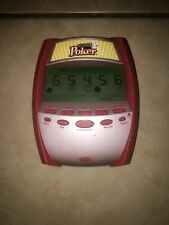 Big Screen Poker Handheld Electronic Game By Radica (2005)