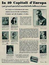 J0035 Sapone PALMOLIVE - Pubblicità grande formato del 1929 - Old advertising