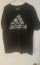 Adidas Mens T Shirt Black Print XL Nice
