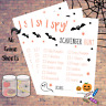 Halloween Scavenger Hunt - NEW - Kids Party Game - 10-50 - Costume Prop Activity