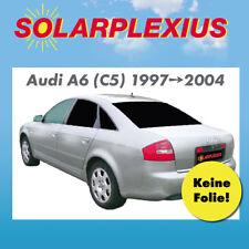 Autosonnenschutz Tönung  Vorsatzscheiben keine Folie AUDI A6 Limo C 5 Bj. 97-04