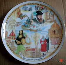 Royal Vale Collectors Plate YEAR 1001 TO YEAR 1500 Millennium Collection
