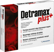 Detramax Plus, 30 tablets 25/5000 Heavy and painfull legs
