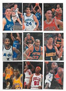 1995-96 Flair Basketball 27 Card Lot RC's Garnett,Stackhouse,Stoudamire,Wallace+