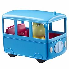 Peppa Pig Small School Bus Playset Vehicle Toy Age 3+