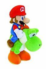 Super Mario Bros - Mario and Yoshi Plush Cuddly Set - 22cms - NEW