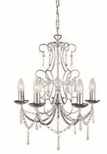 Philips Massive lighting, Decorative Farro 5 Lamp Ceiling Pendant, Chrome.