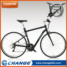 Folding Bike Road 700C Bicycle Roll, Carry!Shimano 24S 10.5kg DF-702B Size 490mm