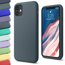 Silicone TPU Case for Apple iPhone 11 12 Pro Max X XS SE XR 6 7 8 Plus Matte Gel