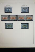 Austria Flood Relief Stamp Collection