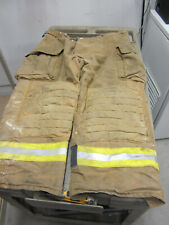 Size 42 X 28 Morning Pride Fire Fighter Turnout Pants G To Vg