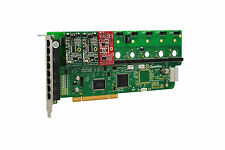OpenVox A800P21 8 Port Analog PCI Base Card + 2 FXS + 1 FXO, Ethernet (RJ45)