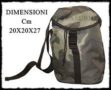 borsa mimetica porta accessori cartucce munizioni caccia pesca spinning soft-air