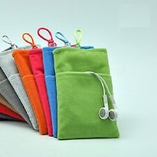 Soft Velvet Pouch Case Cover Bag for Apple iPhone 5 or iPhone 4s FREE SHIPPING