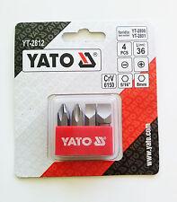 YATO YT-2812 Destornillador Set De Brocas PH 2/3 PLANO 8/10