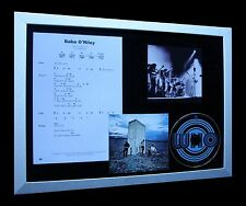 THE WHO Baba O'Riley LTD TOP QUALITY FRAMED MUSIC CD DISPLAY+EXPRESS GLOBAL SHIP