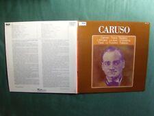 ENRICO CARUSO : Carmen, Tosca, Rigoletto, L'Africaine LP RCA Red Seal RM 11749