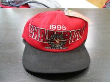NEW VINTAGE Jeff Gordon Snap Back Hat Cap Red Winston Cup NASCAR Racing 1995 90s