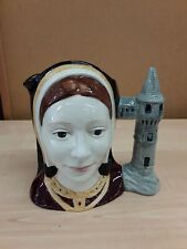 COLLECTABLE ROYAL DOULTON MINIATURE CHARACTER JUG   CATHERINE OF ARAGON