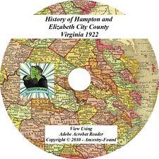 1922 History Hampton Elizabeth City County Virginia VA