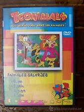 DVD TOONIMALS 3 DE 6 ANIMALES SALVAJES (5L)