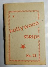 Hollywood Strips Booklet No. 21 Netherlands Maple Leaf Bubble Gum Premium