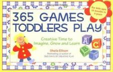 365 Games Toddlers Play : Creative Time to Imagine, Grow and Learn Free Ship T1