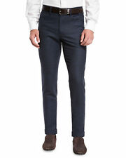 Incotex Blue Five Pocket Wool Pants Size 34 $430 Retail