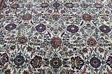 8X11 1960's MAGNIFICENT FINE 300KPSI HAND KNOTTED  WOOL TABRIZZ ORIENTAL RUG