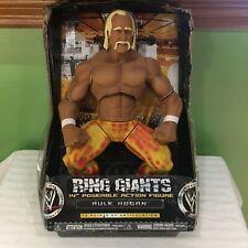 "WWE WWF HULK HOGAN 14"" POSEABLE ACTION FIGURE JAKKS RING GIANTS SHIPS FREE"