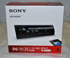 Sony Mex-N4300Bt Bluetooth Front Usb Aux Cd/Mp3 Am/Fm Car Stereo Receiver New