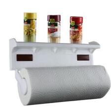 Dérouleurs et porte essuie-tout en plastique pour le rangement de la cuisine Cuisine