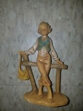 "Fontanini Depose Italy #121 4.75"" Levi with Olive Basket Figurine"