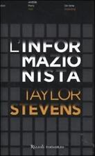 L'informazionista - Taylor Stevens - Libro nuovo in offerta!
