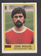 PANINI-EURO FOOTBALL 76/77 - # 48 GERD MULLER-DEUTSCHLAND-BRD
