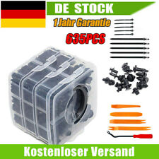 635 Tlg Auto Radkasten Befestigung KFZ Trim Moulding Clips Verkleidung-Sortiment