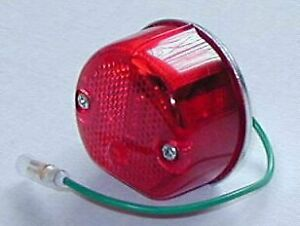 BSA BANTAM ETC WIPAC S446 REPLICA REAR LAMP SINGLE FILAMENT BULB DIRECT LIGHTING