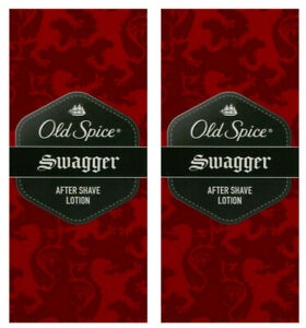 2x Old Spice After Shave Lotion Swagger,100 ml  NEU