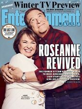 Roseanne Revived, John Goodman, Winter TV Preview, Entertainment Weekly Magazine